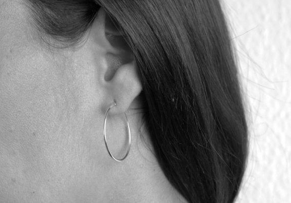 Earrings Big Creole