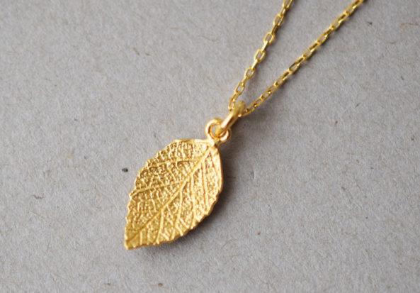 Necklace Autumn Leaf
