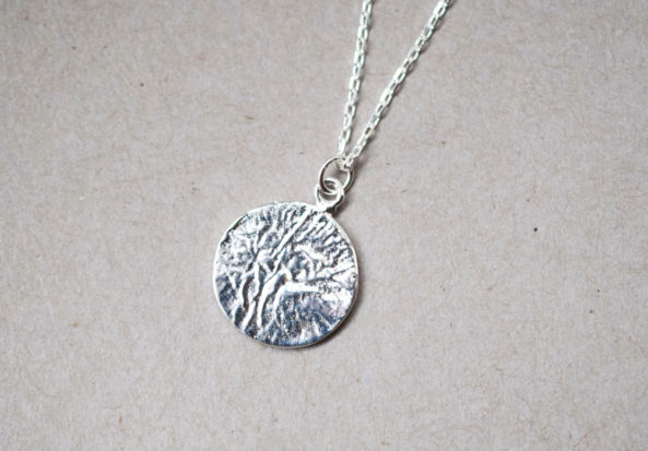 Necklace Medaillon with Imprint