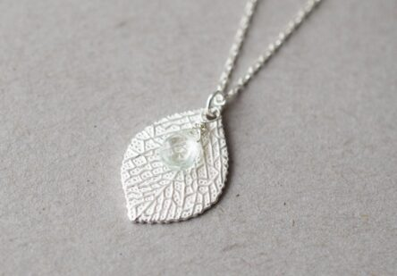 Necklace Summer Leaf