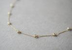 Necklace with Zirconia Stones