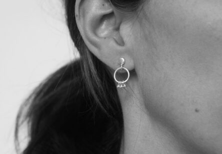 Earstuds Ring with Dots