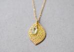 Necklace Summer Leaf