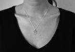 Necklace big Medaillon