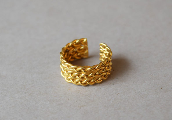 Braided Ring wide