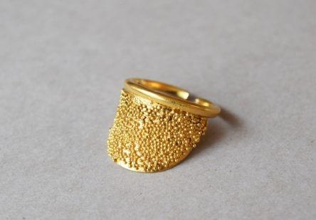 Ring dotty Halfmoon
