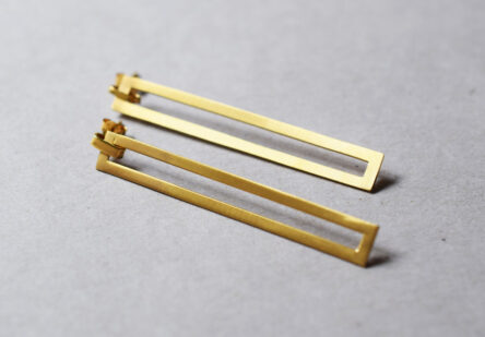 Earrings Long Square