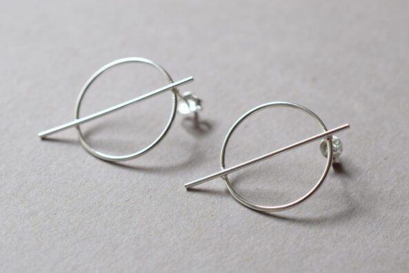 Earstuds Ring Wire
