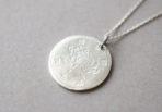 Necklace Coin Lotus