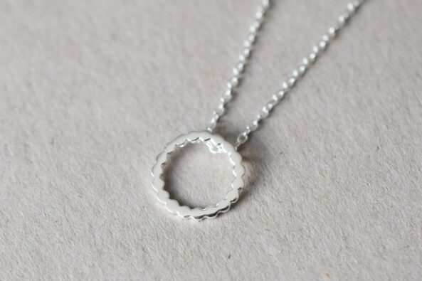 Necklace Dotty Ring