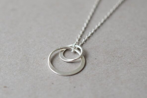 Necklace Double Ring