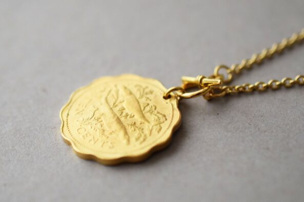 Necklace Fish Coin