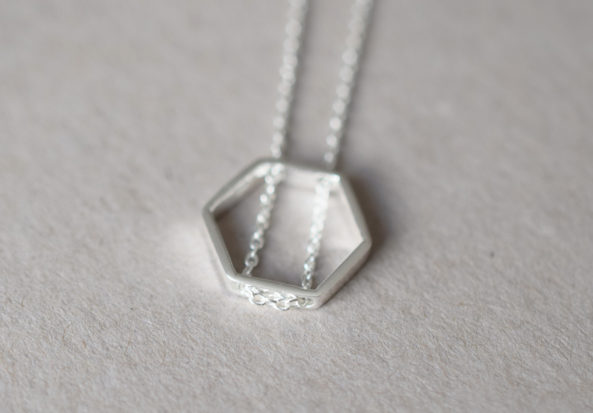 Necklace Hexangon