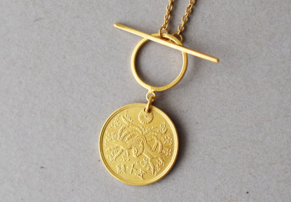 Necklace Phoenix Coin