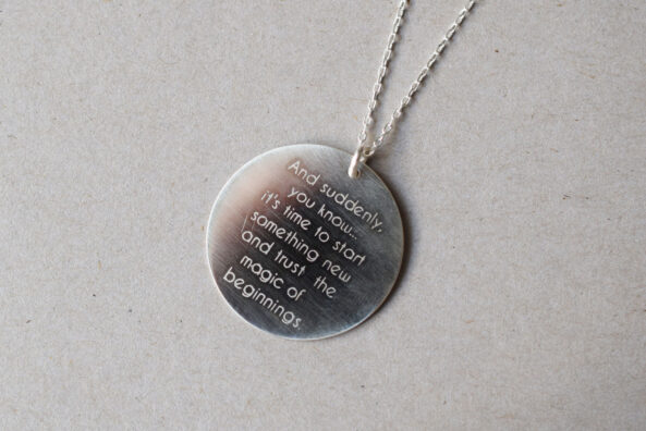 Necklace and suddenly