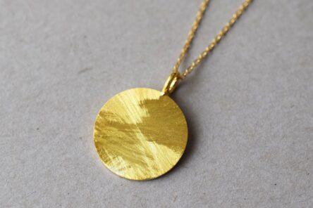 Necklace big Medallion