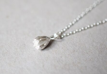 Necklace tiny Bellflower