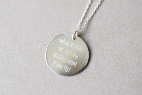 Necklace what if i fall