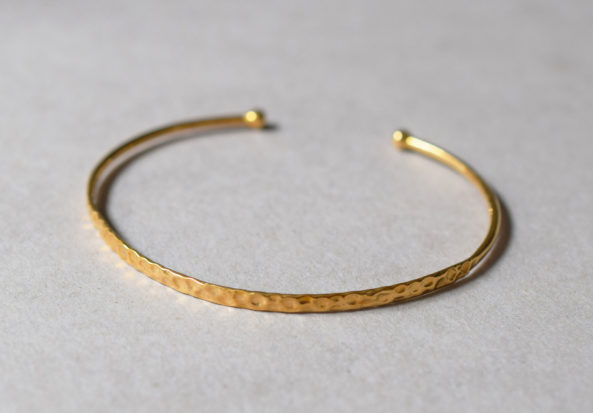 Bangle Hammered