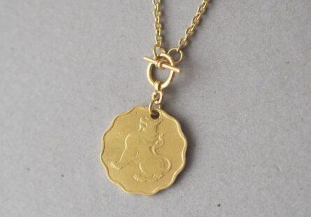 Bracelet Lion Coin