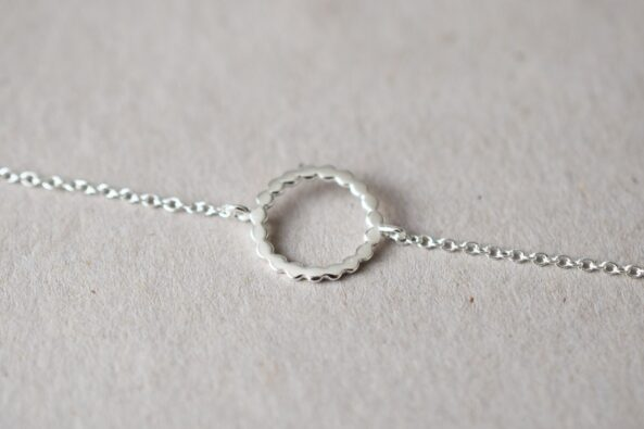 Bracelet with Dotty Ring