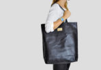 Big Leather Shopper
