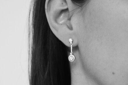 Earrings Classic Zirconia
