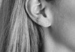 Gold Earrings Simplicity