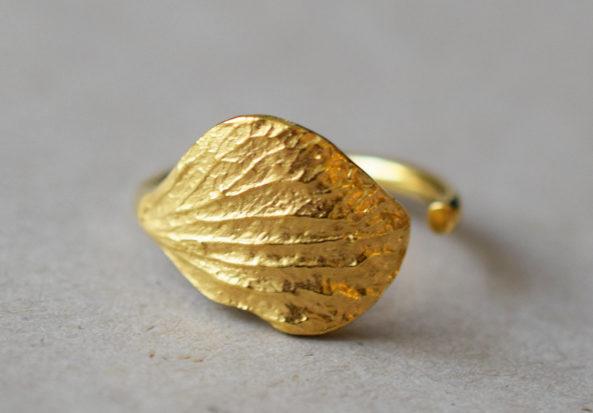Ring Autumn Leaf