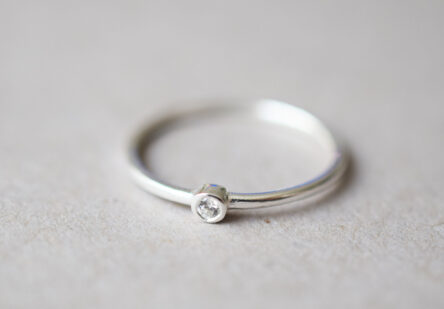 Ring tiny Zirconia