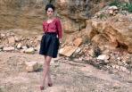 Skirt Brownmelange