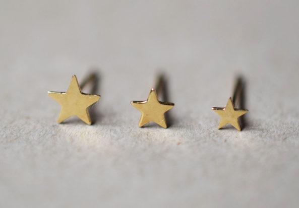 tiny Star Earstuds