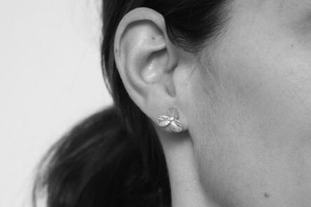 Earstuds three Leaf