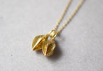 Necklace double blossom