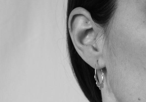 EarringsFlowerCreole