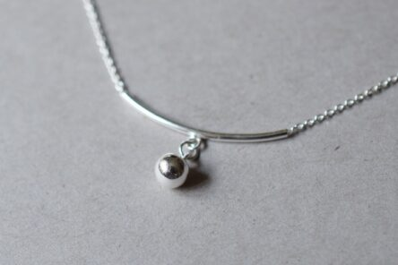 anklet with ball