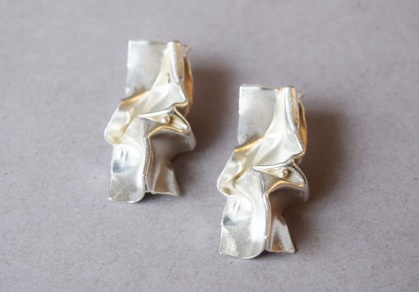 Earrings Pleated