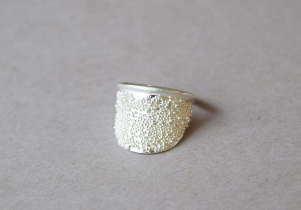Ring dotty Halfmoon