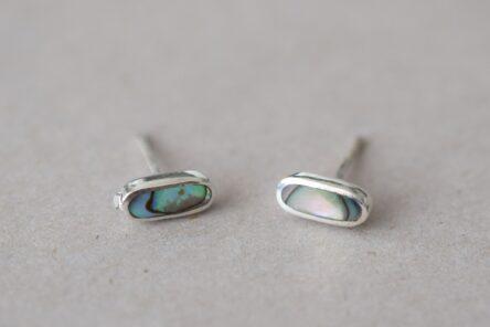 Earrings Ovale Abalone Shell