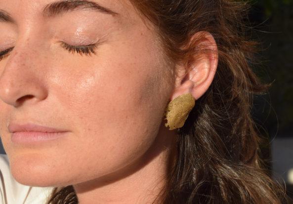 Earrings Organic Shape