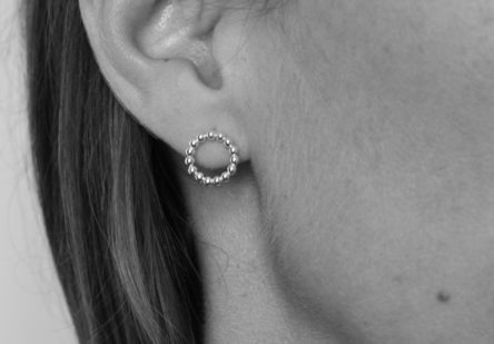 Earstuds BigDotty Circle