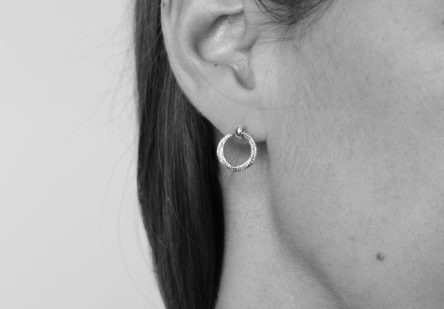 Earstuds Three Ring