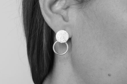 Earrings Disc Ring