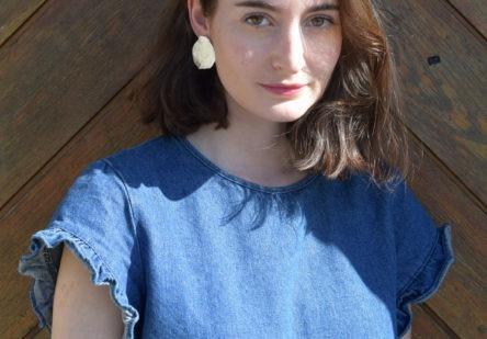 Earrings Organic Circle