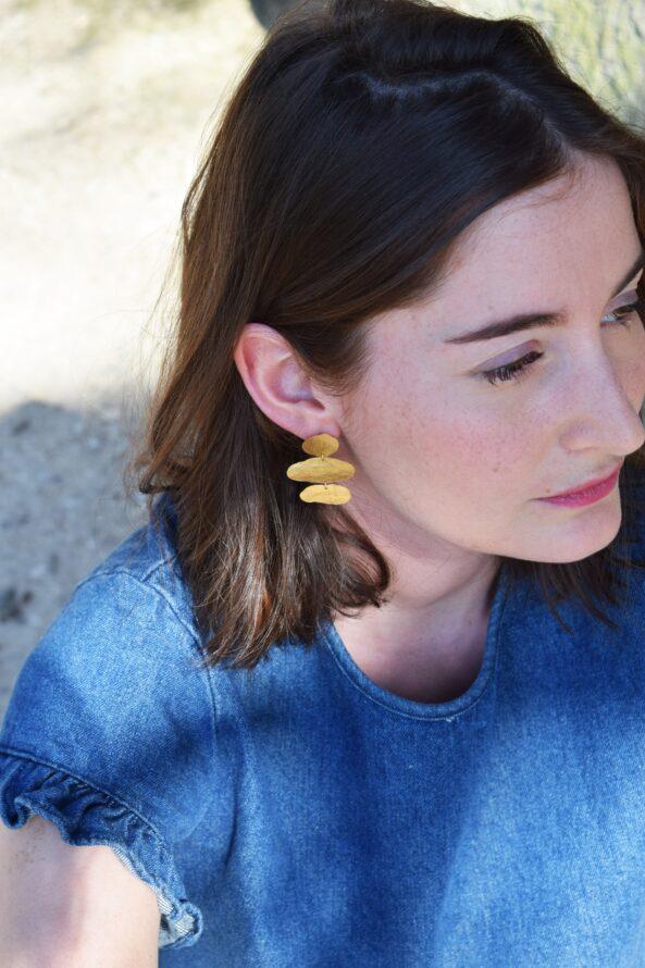 Earrings Organic Pieces