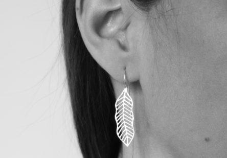 Earrings Palm Leaf