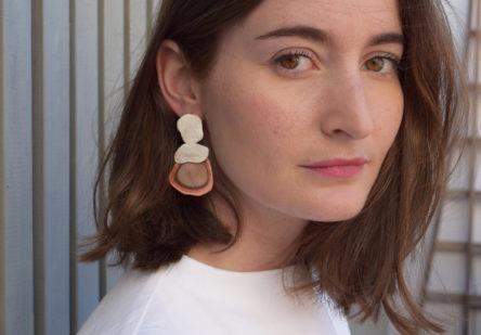 Earrings Seed Jasper