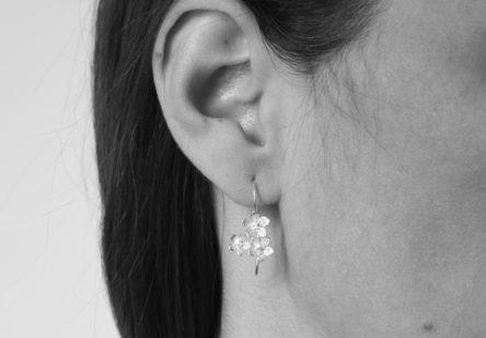 Earrings Three Blossom